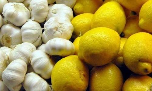 Fit und gesund durch den Winter mit der Knoblauch-Zitronen-Kur
